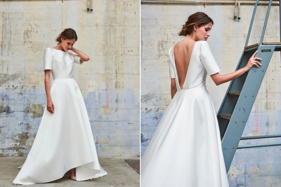 La robe de mariée minimaliste : la tendance nuptiale pour une élégance ultime